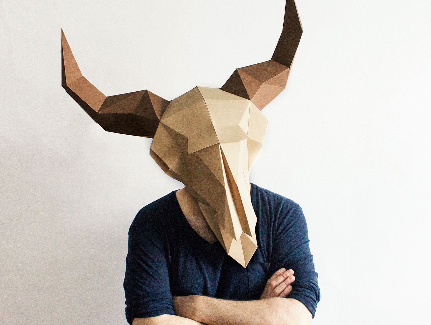 Find This Pin And More On Cowhead Make Your Own Rabbit Mask