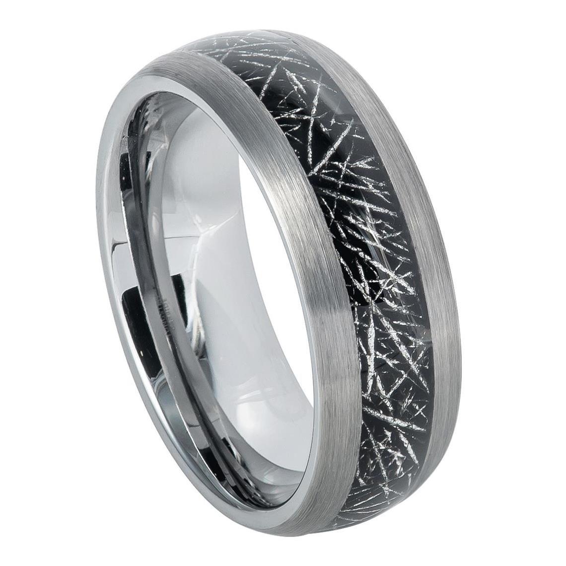 Meteorite Rings, Meteorite Wedding Bands (With images