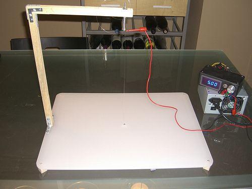 make your own hot wire foam cutter pinterest. Black Bedroom Furniture Sets. Home Design Ideas