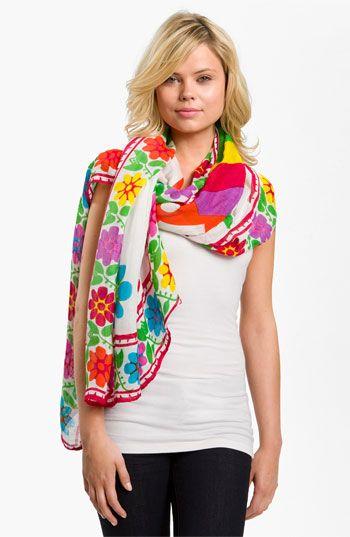 compras bonita y colorida donde puedo comprar Theodora and Callum 'Playa - Tie All' Scarf available at ...