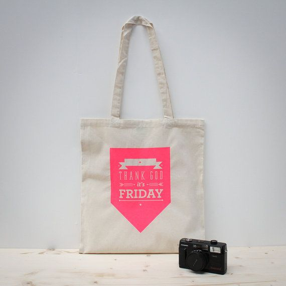 Thank god it's friday tote