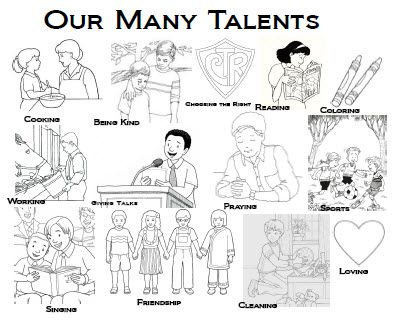 Parable Of The Talents Coloring Page | CLICK HERE to open this ...