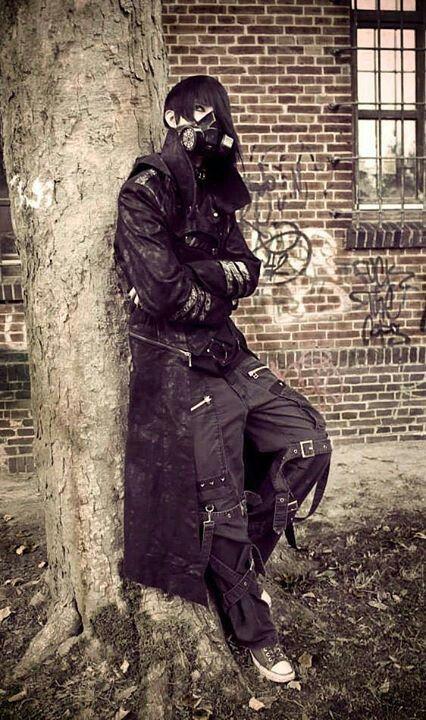 Industrial-goth.   Gothic culture, Goth, Industrial goth