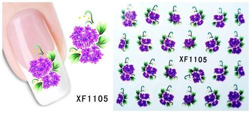 Nails - NAIL ART - WATER TRANSFER - FLOWERS for sale in Virginia (ID:219628619)