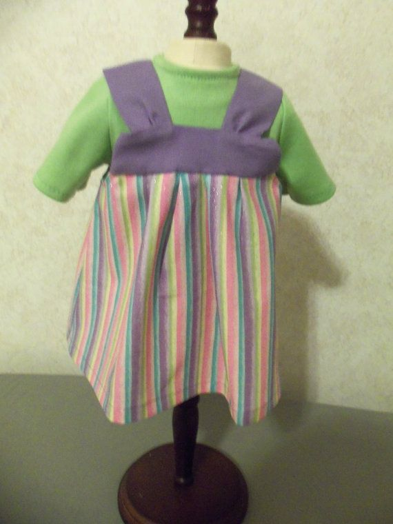 Jumper with Shirt Fits America Dolls by CarolinaDollClothes, $8.00
