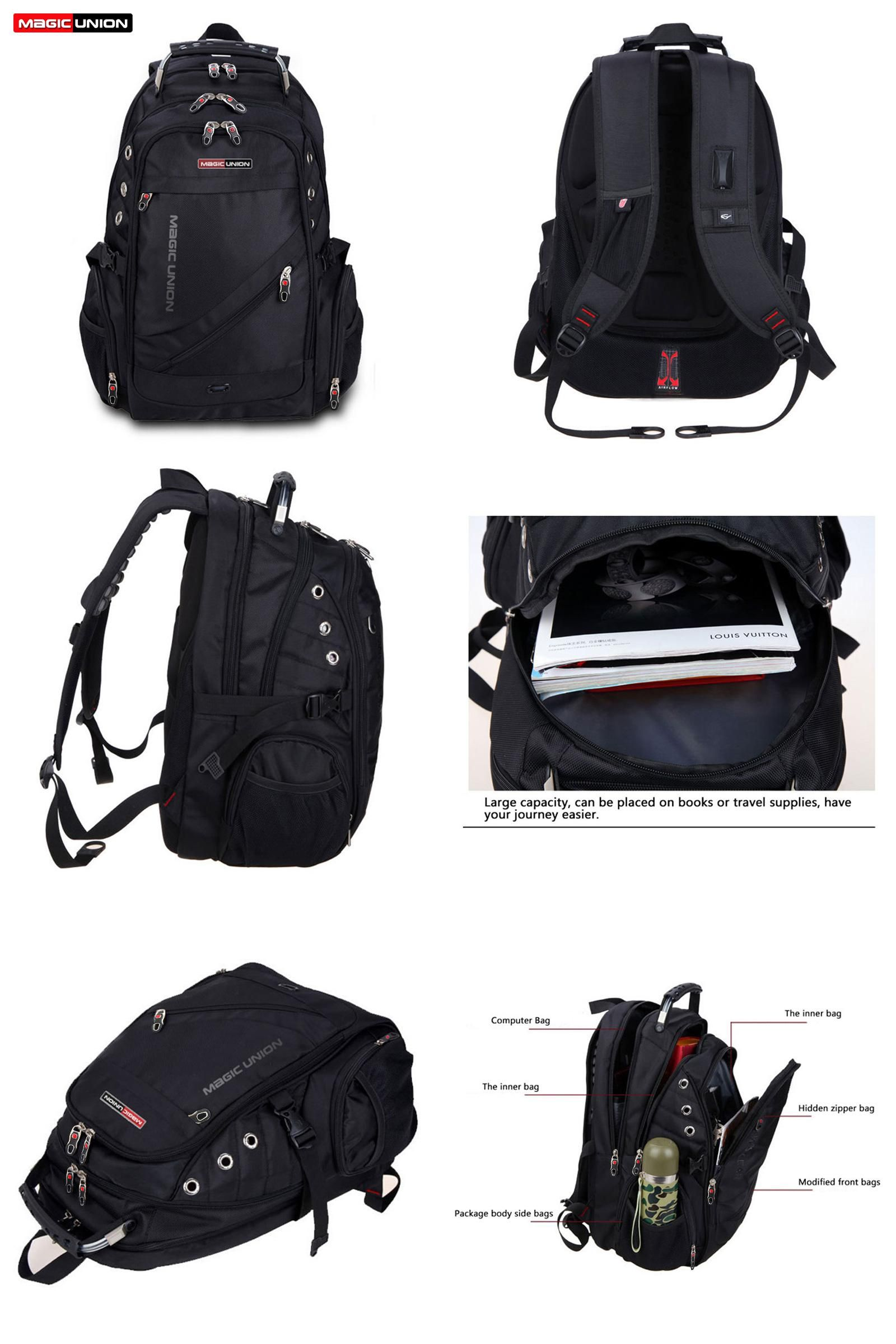 4321ac58da7e  Visit to Buy  MAGIC UNION Brand Design Men s Travel Bag Man Backpack  Polyester Bags