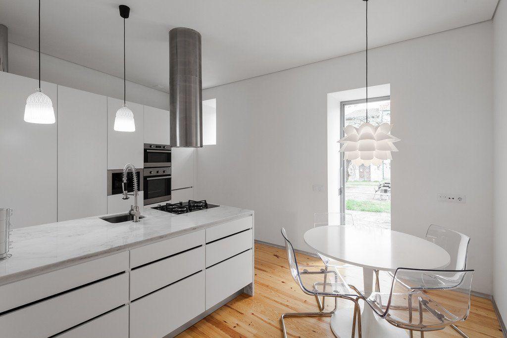 Vorher Nachher-Projekt Modernisierung eines historischen Hauses - küche vorher nachher
