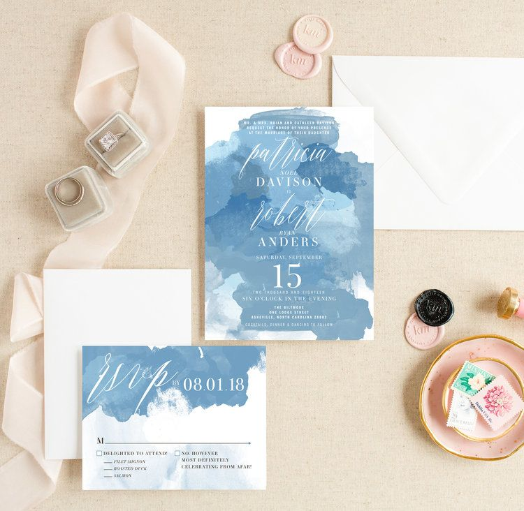 Kitty Meow Boutique Paper Party Goods Greeting Cards Stationery And Invitation Design Classy Wedding Invitations Trendy Wedding Invitations Watercolor Wedding Invitations