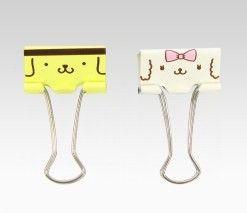 Purin & macaroon binder clips
