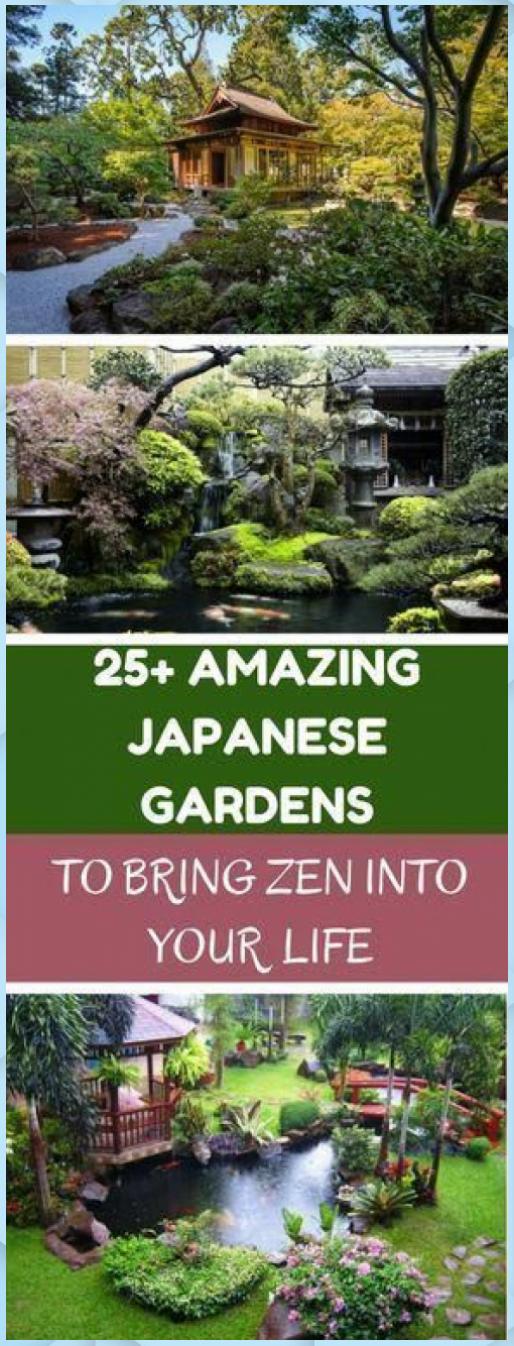 Photo of 25 fantastici giardini giapponesi per portare lo Zen – DIY Garden #fa …