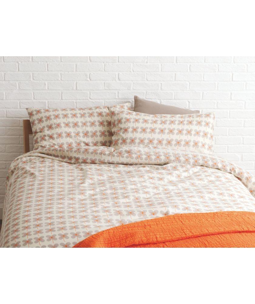 Buy Habitat Sakura Orange Bedding Set - Double at Argos.co.uk - Your Online Shop for Duvet cover sets.