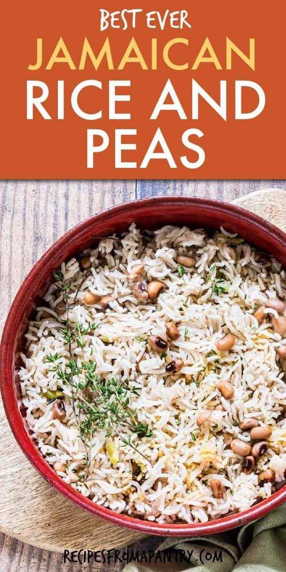best ever jamaican rice and peas recipe vegan gluten