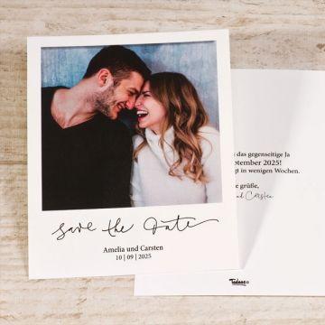 Polaroid Save the Date Karten