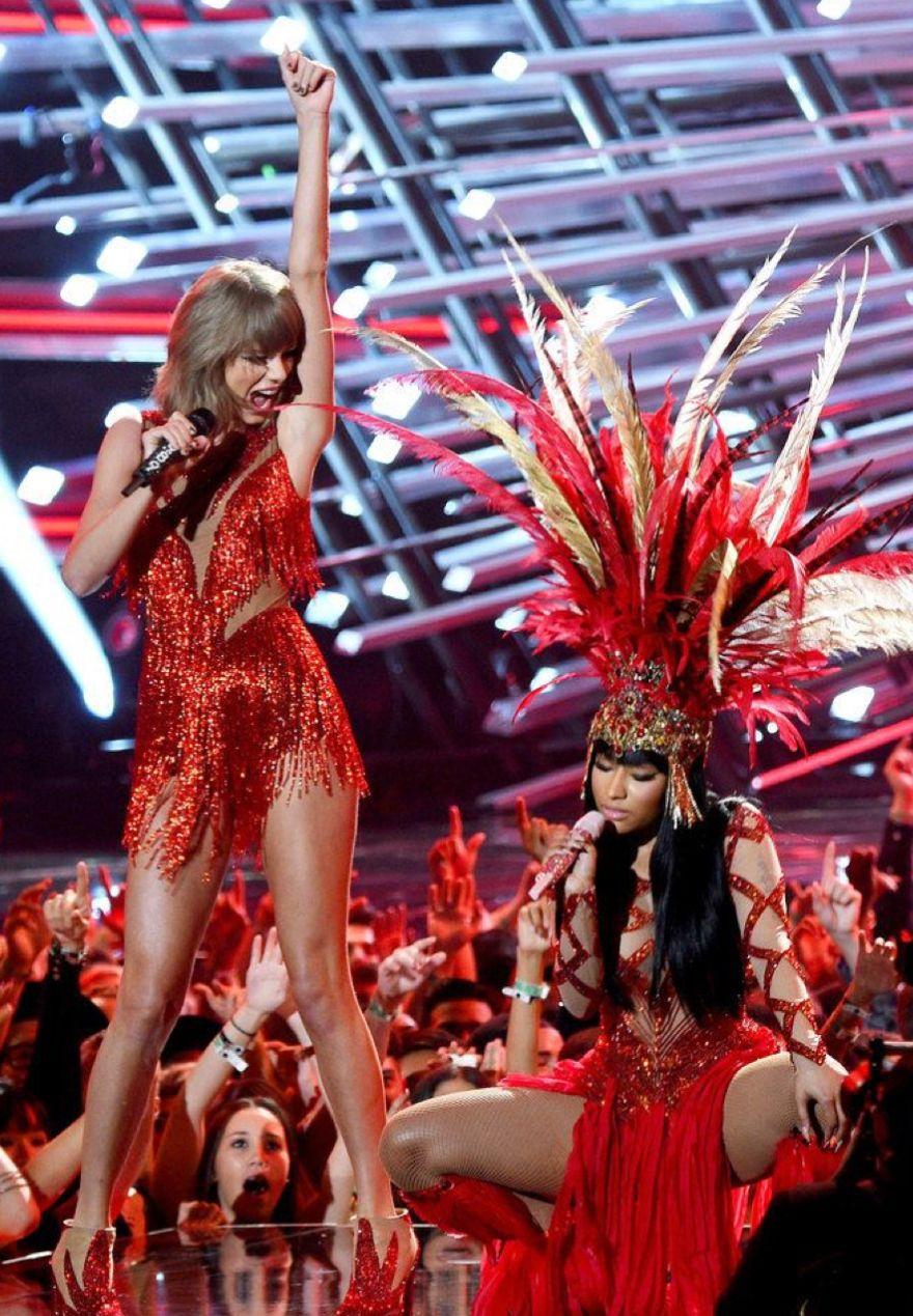 Taylor Swift Nicki Minaj Photos Taylor Swift Hot Mtv