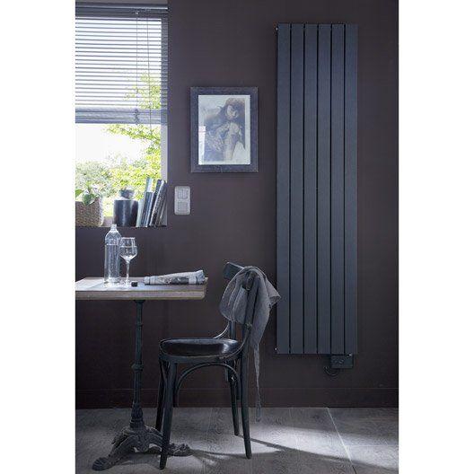 radiateur electrique deltacalor ramada anthracite 1500 w. Black Bedroom Furniture Sets. Home Design Ideas