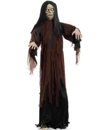Standing Female Zombie Halloween Decorations costumes at
