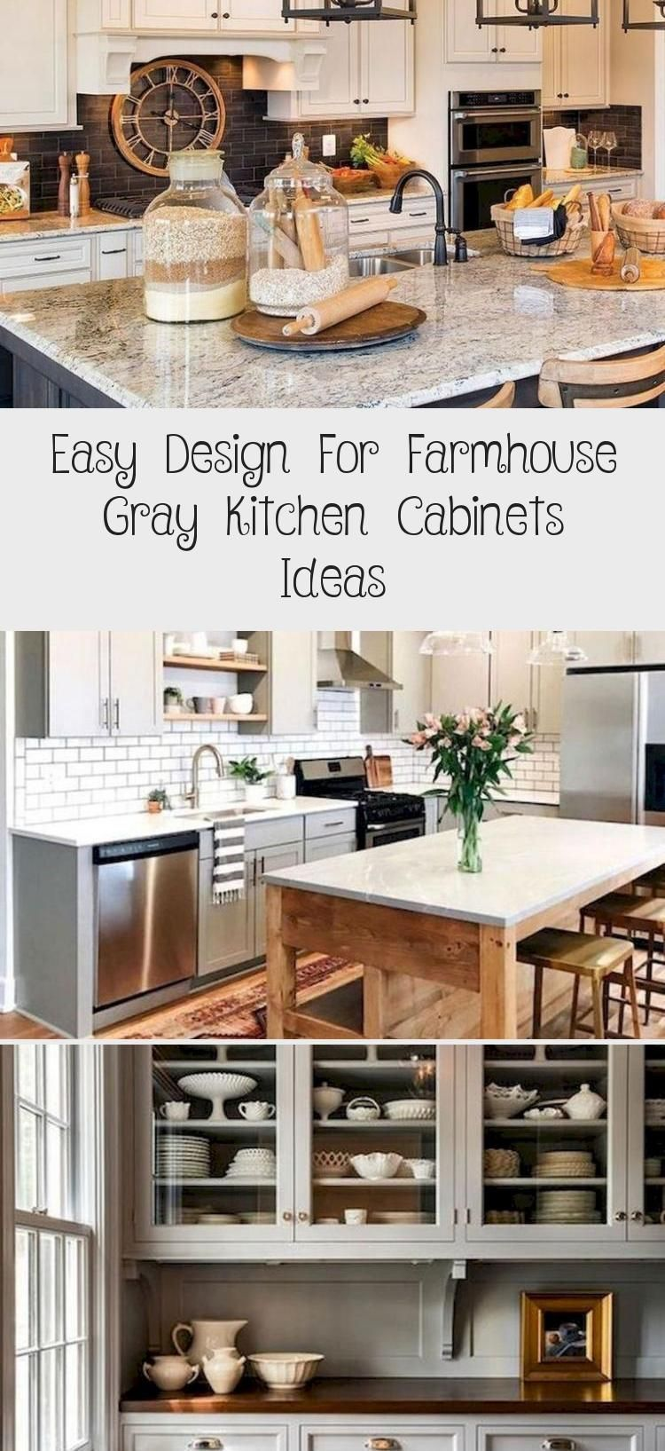Easy Design For Farmhouse Gray Kitchen Cabinets Ideas Kitchendesign Kitchenrem Cabinets Design In 2020 Grey Kitchen Cabinets Grey Kitchen Coffee Bars In Kitchen