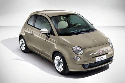 Fiat 500 Color Therapy Beige Cappuccino Fiat 500 Colours Fiat