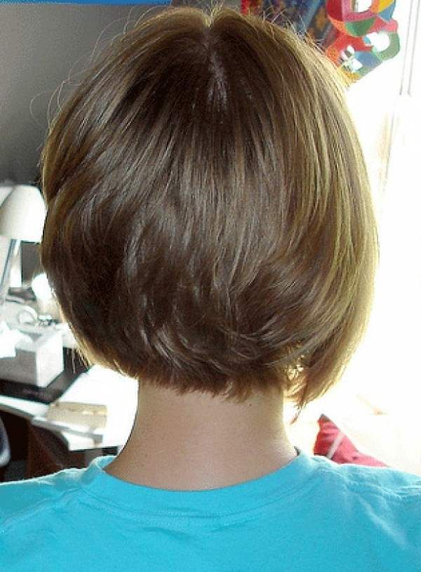 Back View Of Short Hairstyles Short Bob Hairstyles Rear View