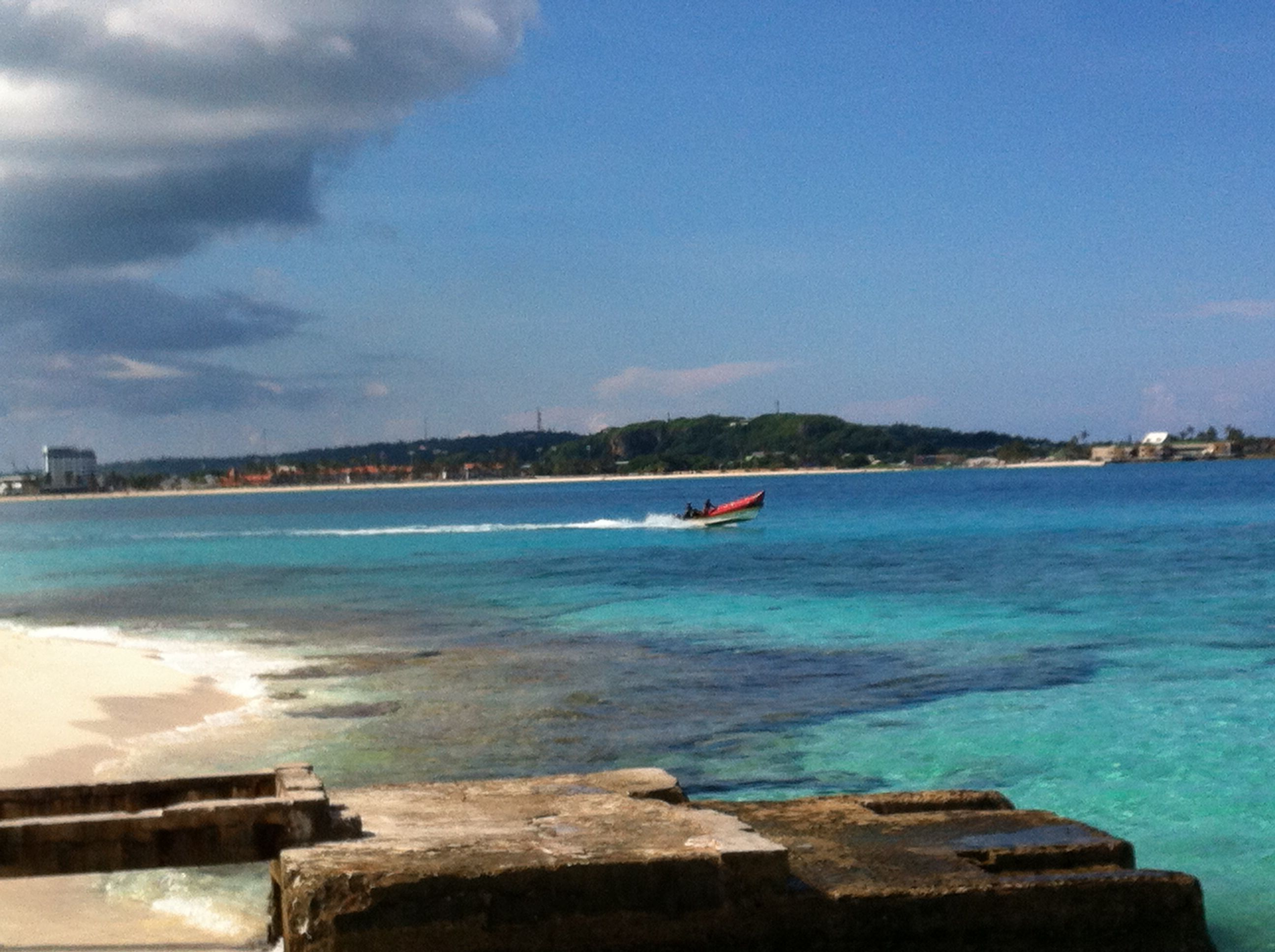 7 colored ocean isla providencia outdoor water coastline