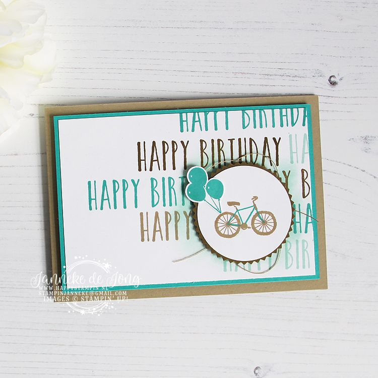 Stampin' Up! Perennial Birthday Happy Stars Bloghop