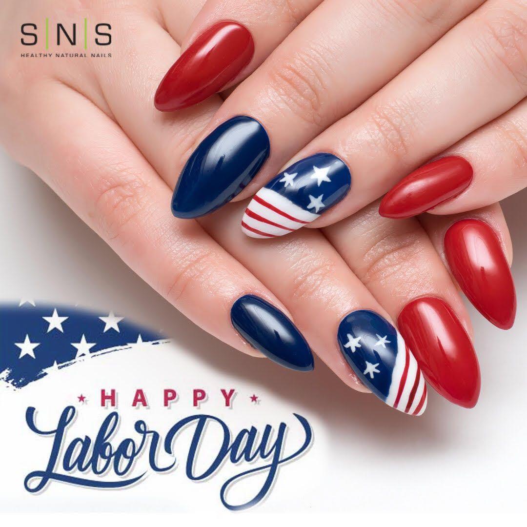 4th Of July Memorial Day Labor Day Toe Nails Nail Designs July 4th Nails Designs
