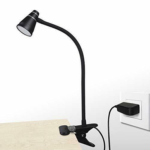 Cesunlight Led Clip Desk Lamp Headboard Light With Strong Clamp Bed White Desk Lamps Ideas Of Desk Lamps Desklamps