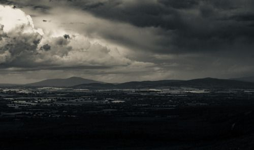 scutteh:  The view across to the Galtees. Taken around this time...