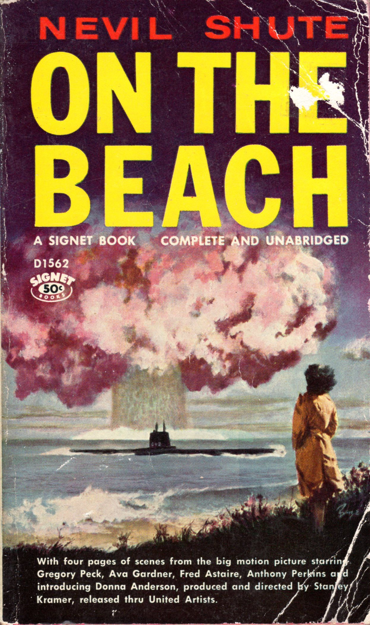 On The Beach Nevil Shute My Books A Cover Gallery Pinterest