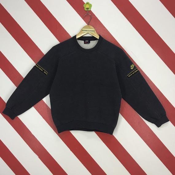 48f3ab6a0030a Vintage 80s Nike Sweatshirt Nike International Japan Sweater ...