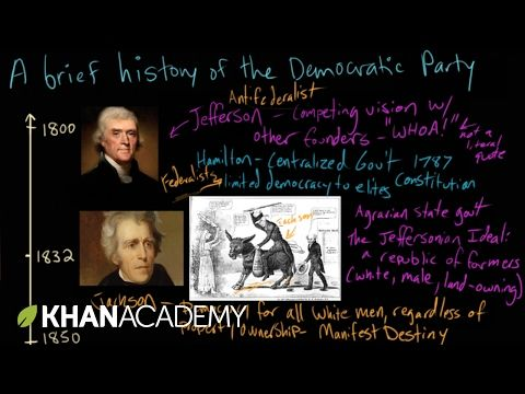 The History of the Democratic Party (The U.S. Government: How It Works)