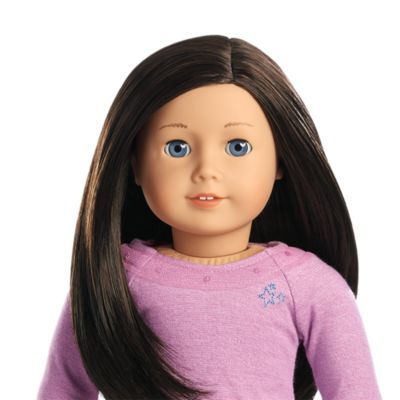 Truly Me Doll 58 Truly Me Accessories Black Brown Hair