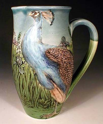 Peacock Pitcher
