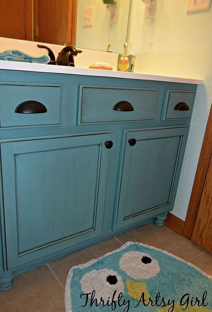11 Low Cost Ways To Replace (or Redo) A Hideous Bathroom Vanity