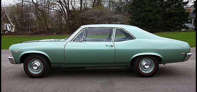 1968 1974 X Body Nova Chassis