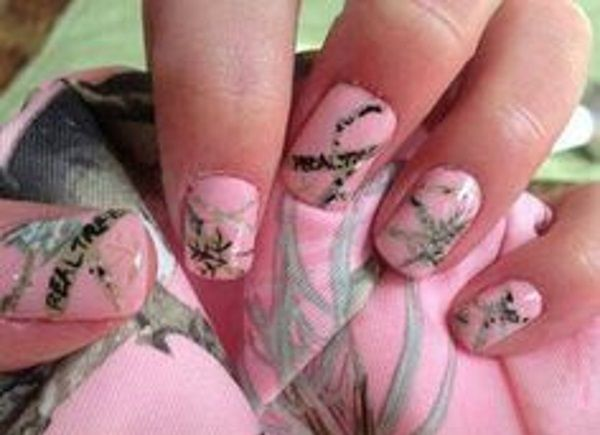 Pretty Camouflage Nail Design Pink Camo Nails, Camo Nail Art, Camouflage  Nails, Camouflage - 13 Pretty Camouflage Nail Designs In 2018 Nails Pinterest
