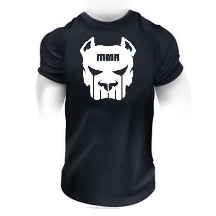 MMA FIGHTING GYM BODYBUILDING T-Shirt BEST WORKOUT CLOTHING TRAINING MAN #Gildan