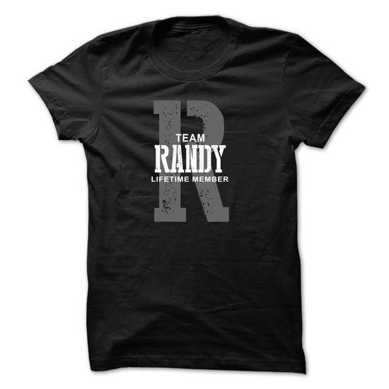 I Love Randy team lifetime ST44 T shirts