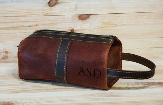 Personalized Leather Cosmetic Bag f1b0c0775cfb2