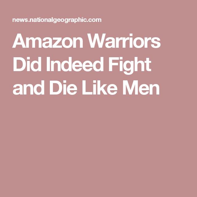 amazon warriors did indeed fight