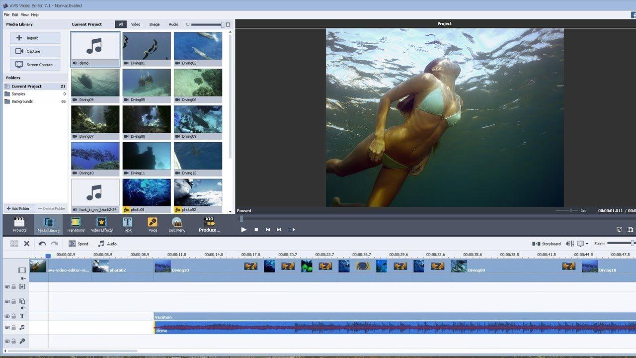 Editor De Vídeo Fácil E Completo Avs Video Editor Editor De Video Melhor Editor Editor