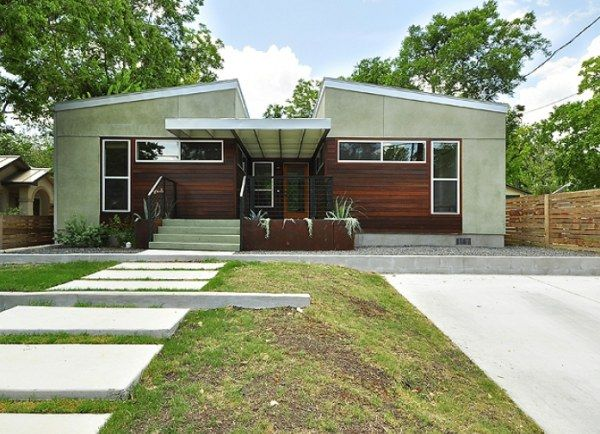 8 modular home designs with modern flair design for Pre fab modern homes