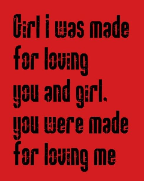 Kiss song lyrics, music, quotes | Song Lyrics I Love | Cool ...