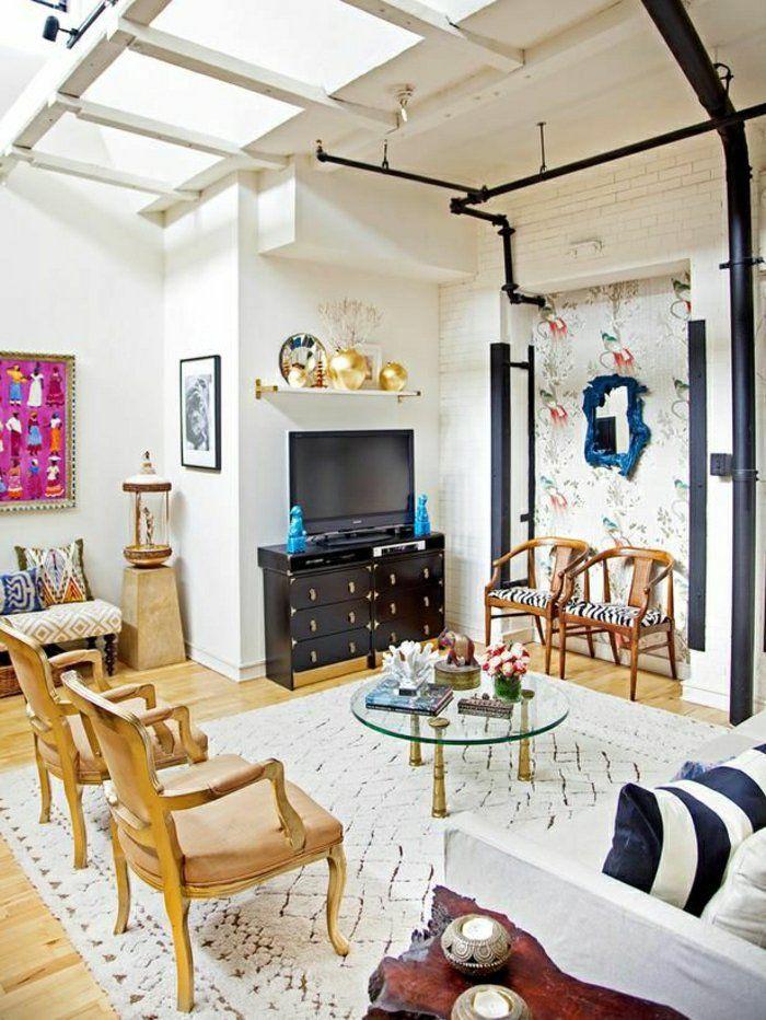 le meuble t l en 50 photos des id es inspirantes tvs. Black Bedroom Furniture Sets. Home Design Ideas