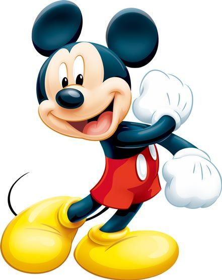 psd mickey mouse imagui