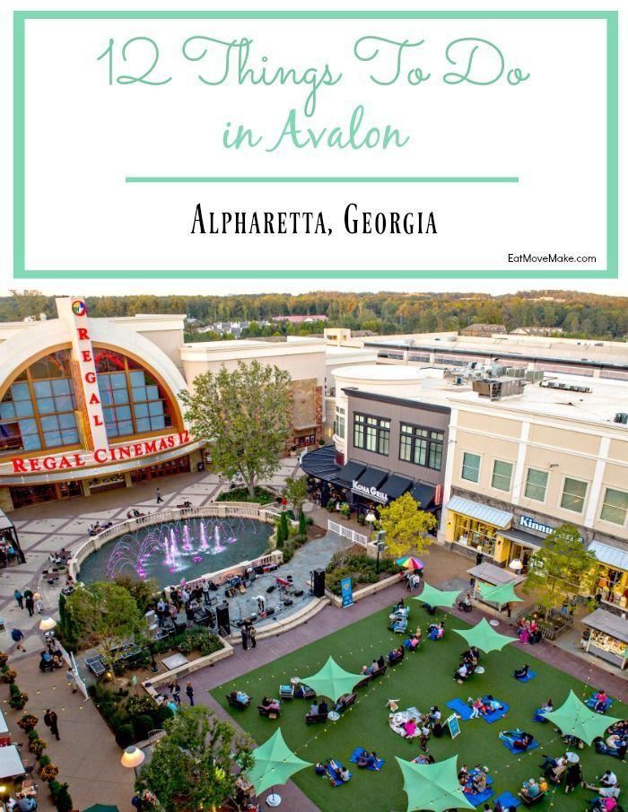 Avalon Alpharetta   Premier Shopping, Dining And Entertainment