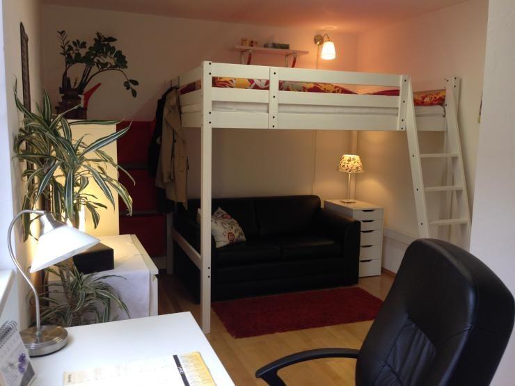 hochbett in zimmer in 3er wg - wohngemeinschaft innsbruck möbliert, Wohnideen design