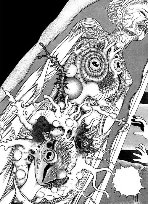 Image result for body horror manga | Japanese horror, Art