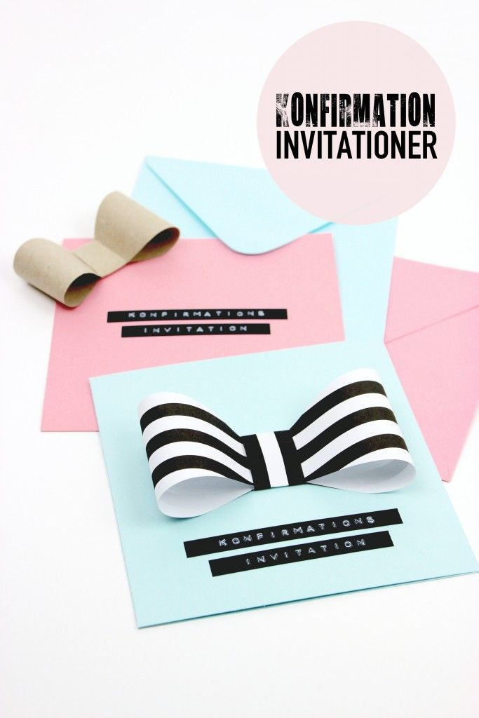 Konfirmation Invitationer Blog Bog Ide Med Billeder Invitationer Kreativ Invitation