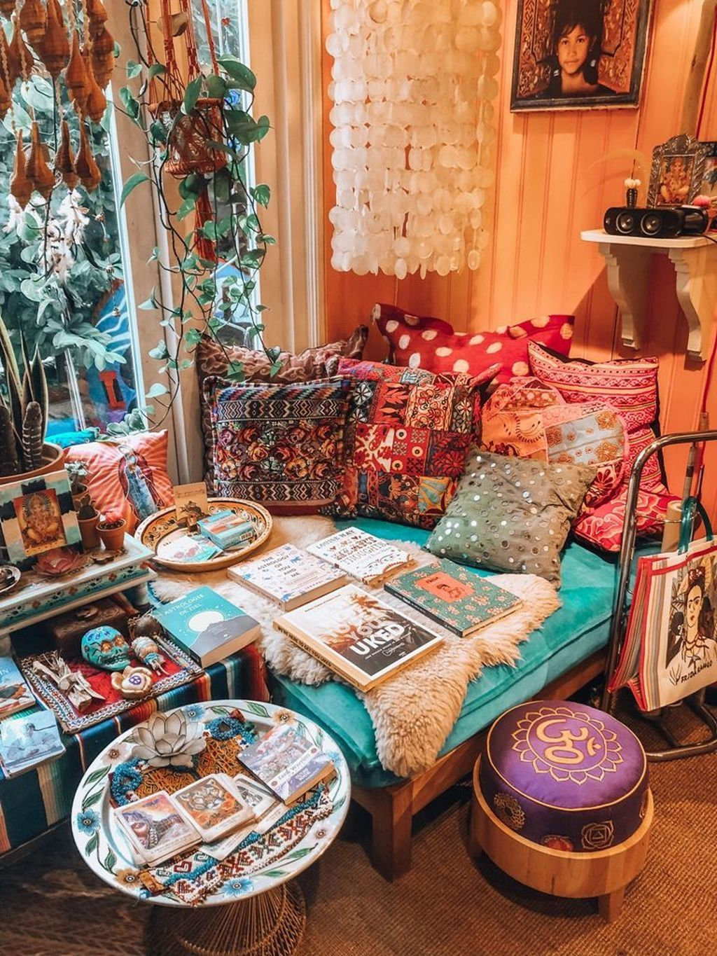 43 Awesome Bohemian Living Room Decor Ideas images